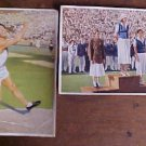 LARGE COLOR 1936 GERMAN OLYMPIC PROPAGADA CARDS