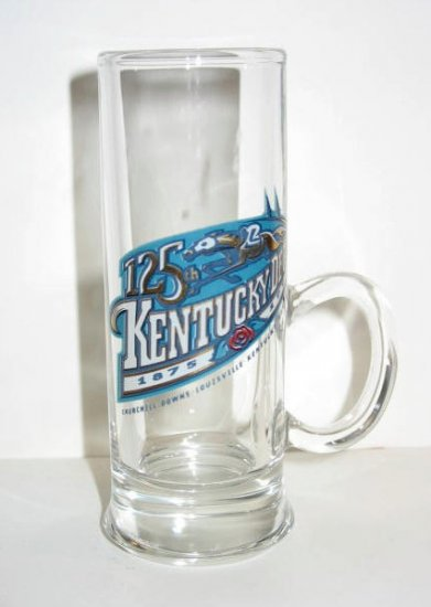 1999 125th KENTUCKY DERBY TALL HANDLED SHOT GLASS