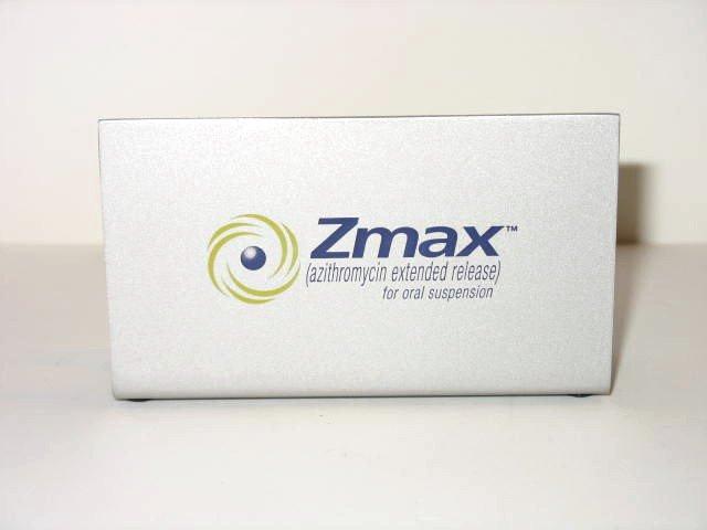ZMAX DRUG REP BUSINESS CARD HOLDER DESK METAL NIB
