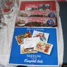 LOT 4 Campbell Kids Collector Calendars CAMPBELLS SOUP