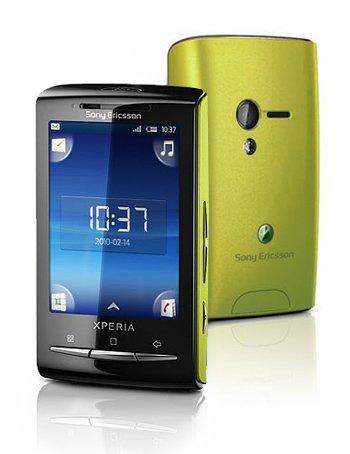 Sony Ericsson E10i XPERIA Mini GSM Quadband Android Phone (Unlocked) Lime