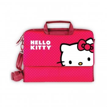 Hello Kitty KT4335R Laptop Case- Red