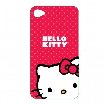 Hello Kitty KT4488R4 Polycarbonate Wrap for iPhone 4.