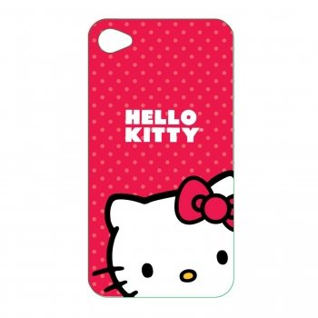 Hello Kitty KT4478R Polycarbonate Wrap for iPod Touch 4G.