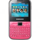 Samsung C3222 Chat GSM Quadband Phone (Unlocked) Pink.