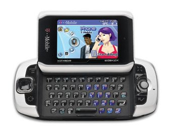 T-Mobile Sidekick 3 QWERTY Phone.