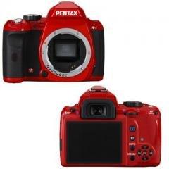 Pentax K-r Body only--Red--12.4 megapixel CMOS