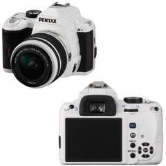 Pentax K-r 18-55mm lens kit-White-12.4 megapixel CMOS