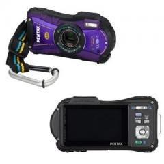 Pentax Imaging OPTIO WG-1 14MP 5x Purple.