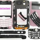 Verizon Pink RIM BlackBerry OEM 8330 Curve Full Housing