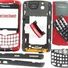 Red T-Mobile RIM BlackBerry OEM 8320 Curve Full Housing Case