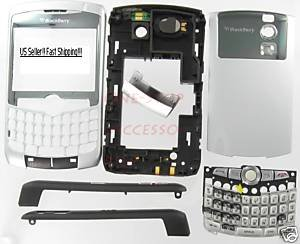 No-Logo OEM RIM BlackBerry 8300 8310 8320 Curve Full Housing Case