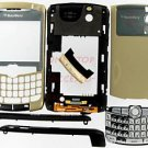 Original BlackBerry T-Mobile Curve 8300 8320 Complete Full Housing Cover Gold