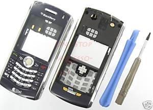 Alltel OEM BlackBerry 8130 Pearl Full Housing Case Blue