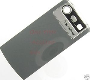 Gray Blackberry Pearl 8120 8130 OEM Battery Door Cover