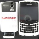 RIM Blackberry CDMA Curve 8330 White Full Housing Case
