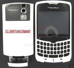 RIM Blackberry CDMA Curve 8330 White Full Housing Case