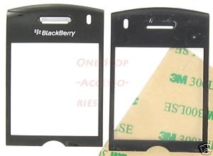 Black OEM RIM Blackberry Pearl 8110 8120 Lens LCD Cover