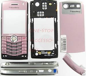 Pink Verizon OEM BlackBerry 8130 Pearl Full Complete Housing Case US