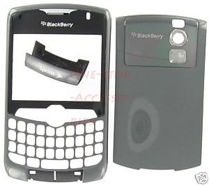 Sprint OEM Rim Blackberry Curve 8330 Housing Titanium Gray