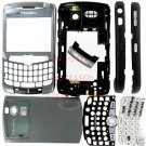 T-Mobile OEM BlackBerry Curve 8320 8300 Full Housing Titanium US