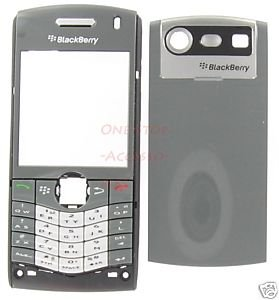 Gray OEM BlackBerry 8110 8120 Pearl Housing Case+Keypad