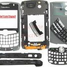 Un-Branded Titanium BlackBerry 8330 Curve Full Housing Case
