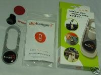 Clip Hanger Cliphanger MP3 Cell Mobile Phone Ipods PDAs