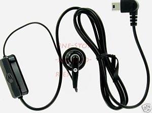 Motorola OEM Earpiece Earbud V235 V360 W385 W490 V3M V3