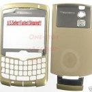 Gold Un-Branded RIM Blackberry Curve 8300 8310 8320 Housing Case