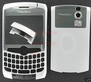 No-Logo OEM RIM BlackBerry 8300 8310 8320 Curve Housing Silver