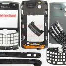 Sprint OEM BlackBerry 8330 Curve Complete Housing Titanium