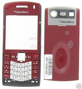 Burgundy OEM RIM BlackBerry 8110 8120 Pearl Housing Case GSM