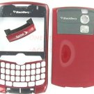 No-Logo Burgundy Original Blackberry Curve 8330 Housing Case