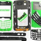 Green RIM BlackBerry OEM 8330 Curve Full Housing Cover