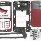 No Logo OEM BlackBerry 8300 8310 8320 Curve Full Housing Burgundy