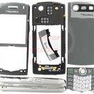 T-Mobile OEM RIM BlackBerry 8110 8120 Pearl Full Housing Grey