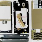 Gold RIM Blackberry Pearl 8100 Complete OEM Housing Case T-Mobile
