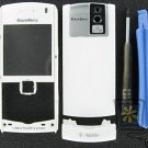 White OEM T-Mobile BlackBerry 8100 Pearl Housing+Tools