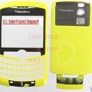 Yellow Rim BlackBerry 8300 8310 8320 Curve Full Housing