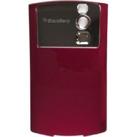 Burgundy BlackBerry Curve 8330 Battery Back Cover Door