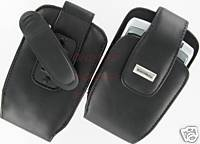 Blackberry Genuine Leather Case Pouch For Alltel Curve 8330