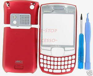 Red AT&T OEM Palm Treo 680 Housing Cover+Tool Kit