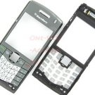 AT&T RIM Blackberry Pearl 8110 8120 OEM Faceplate+Keypad Gray