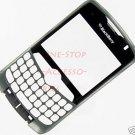 Titanium OEM RIM Blackberry Curve 8330 Faceplate w Lens