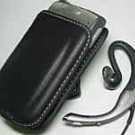 Leather Pouch+Jabra Headset Palm Treo 650 685 690 700 700p 700w 700wx 680 750 750p 755 755p Centro
