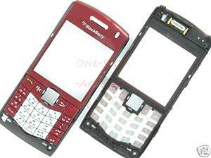 Original Blackberry Pearl 8110 8120 Faceplate+Keypad Red