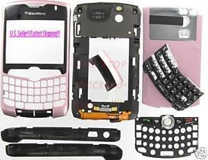 Pink Original BlackBerry 8330 Curve Complete Housing US