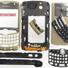 Gold BlackBerry 8330 Curve Complete Housing Case Cover