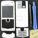 White OEM T-Mobile BlackBerry 8100 Pearl Housing With Keypad+Tool Kit